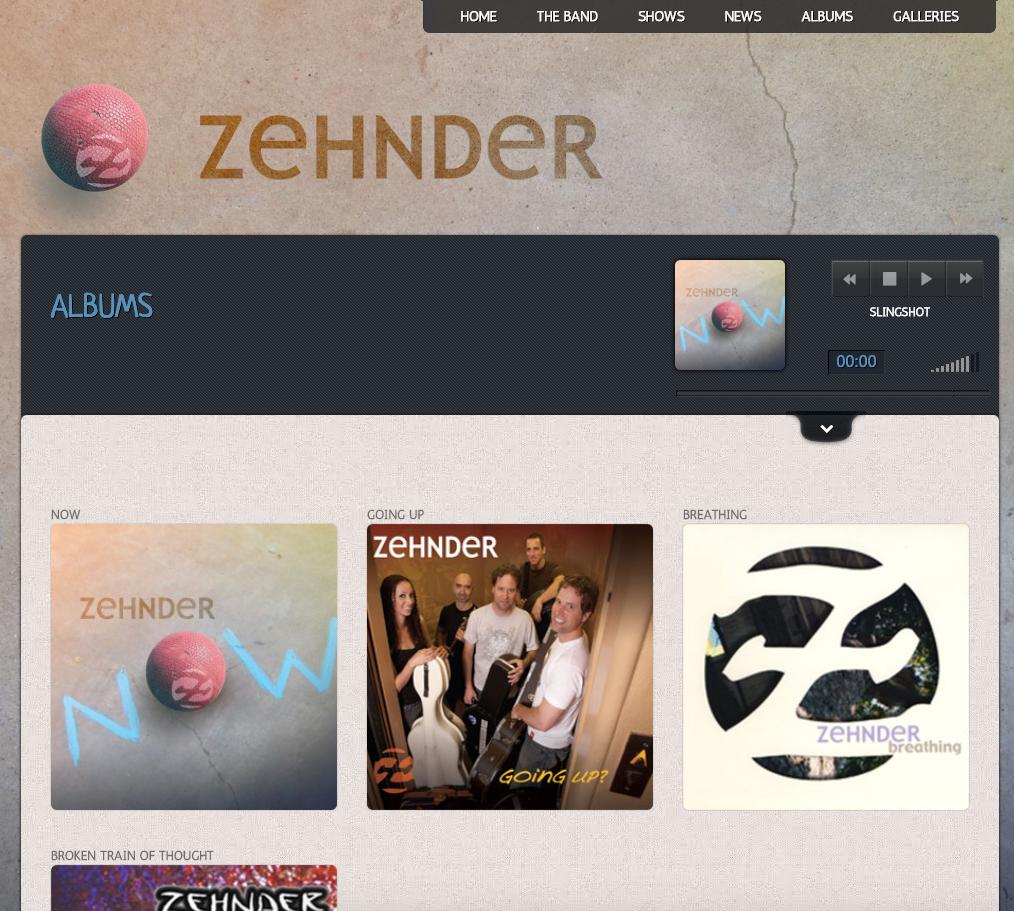 Zehnder Albums